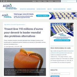 Ynsect lève 110 millions d'euros pour devenir le leader mondial des protéines alternatives