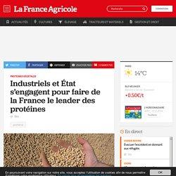 Protéines végétales : Industriels et État s'engagent pour faire de la France le leader des protéines