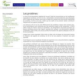 Les protéines, un faux problème