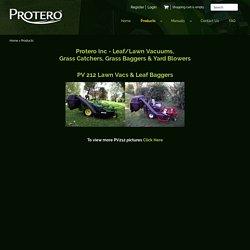 PV 212 Lawn Vacs & Leaf Baggers
