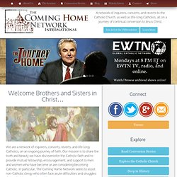 Protestant ministers converting to the Catholic Church - Conversion Stories, Fellowship, Catholic Media