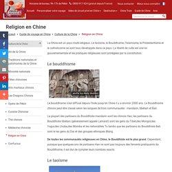 Religion en Chine, Le Taoïsme, le Bouddhisme, l'Islamisme, le Protestantisme et le Catholicisme