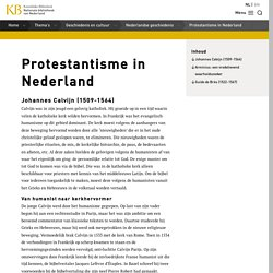 Protestantisme in Nederland