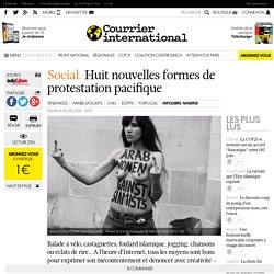 Huit nouvelles formes de protestation pacifique