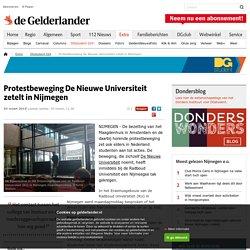 Protestbeweging De Nieuwe Universiteit zetelt in Nijmegen