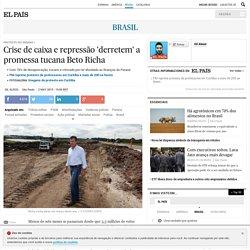 Protesto no Paraná: Crise de caixa e repressão 'derretem' a promessa tucana Beto Richa