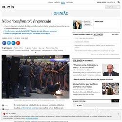 """Protestos estudantis São Paulo: Não é """"confronto"""", é repressão"""