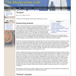 """Proteus"" - Modernism Lab Essays"