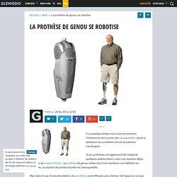 La prothèse de genou se robotise