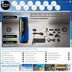 iON Air Pro™ Plus High Definition Video Camera from iON