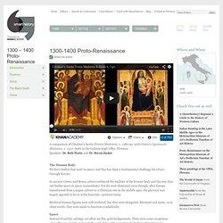 1300-1400 Proto-Renaissance