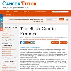 The Black Cumin Protocol For Cancer - Alternative Cancer Treatment