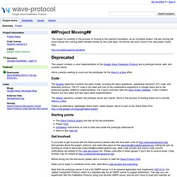 wave-protocol - Project Hosting on Google Code