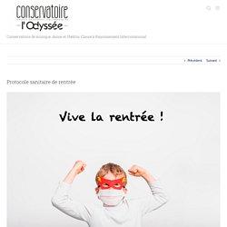 Protocole sanitaire de rentrée – Conservatoire classé de l'Agglo du Pays de Dreux