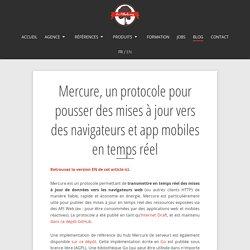 Mercure, un protocole pour pousser des mises à jour vers des navigateurs et app mobiles en temps réel - Les-Tilleuls.coop