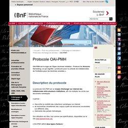 Protocole OAI-PMH