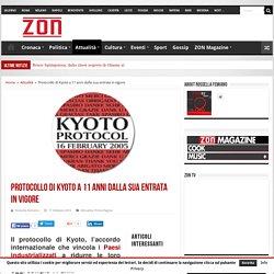 Protocollo di Kyoto a 11 anni dalla sua entrata in vigore