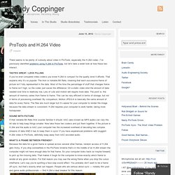 ProTools and H.264 Video « Randy Coppinger