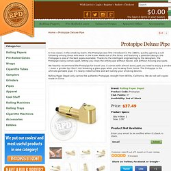 Protopipe Deluxe Pipe with Grinder Tip