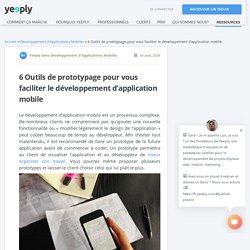Prototypage pour le développement d'application mobile