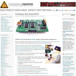 Prototype: Bus Pirate BPv3
