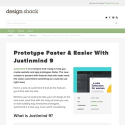 Prototype Faster & Easier With Justinmind 9