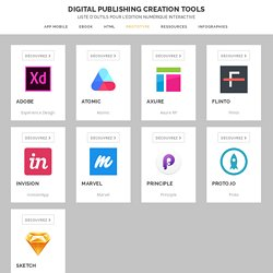PROTOTYPE – Digital Publishing Creation Tools
