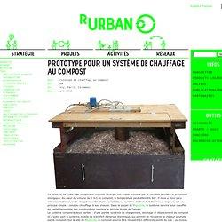 Prototype pour un système de chauffage au compost