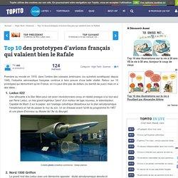 Top 10 des prototypes d'avions français qui valaient bien le Rafale