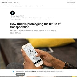 How Uber is Prototyping a Shared Solution for Global Transportation