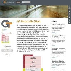 GT Prove eID Client