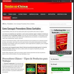 Como Conseguir Proveedores Chinos Confiables