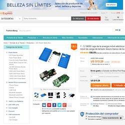 Comprar 1 5 18650 caja de la energía móvil eléctrica recién llegado del teléfono móvil de carga de tensión tesoro banco de la energía Kit ( sin baterías ) de teléfono de banco de potencia confiables proveedores de FashionBang.