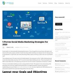 5 Proven Social Media Marketing Strategies For 2020