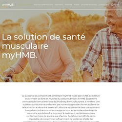 Proven Muscle Health Solution