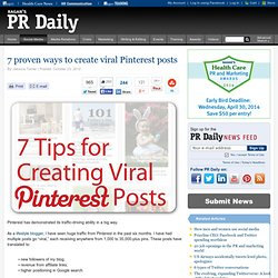 7 proven ways to create viral Pinterest posts