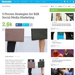 5 Proven Strategies for B2B Social Media Marketing