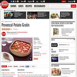 Provencal Potato Gratin Recipe : Food Network Kitchens