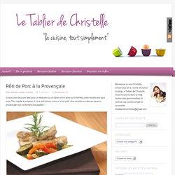 Rôti de Porc à la Provençale