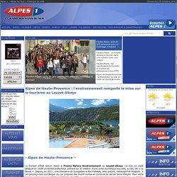 Alpes de Haute-Provence : l'environnement remporte la mise sur le tourisme au Lauzet-Ubaye