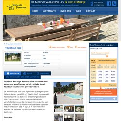 Provence - Luxe villa huren in Zuid-Frankrijk - Tourtour 1208