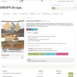 Provence Kitchen / DROPS 107-30 - Gratis stickmönster från DROPS Design