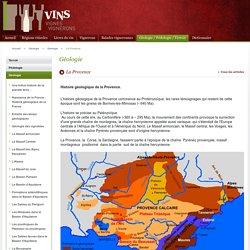 La Provence / Géologie / Géologie / Vins VignesVignerons