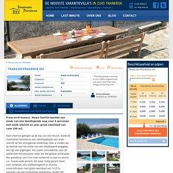 Provence - Villa huren in Zuid-Frankrijk - Trans en Provence 835