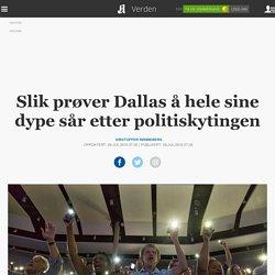 Slik prøver Dallas å hele sine dype sår etter politiskytingen