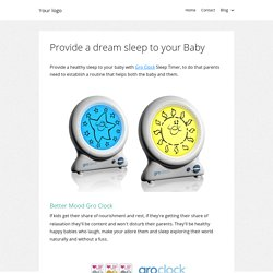 Provide a dream sleep to your Baby