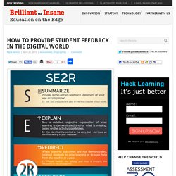 How to Provide Student Feedback in the Digital World