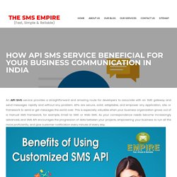 Best Bulk SMS Service Provider in Chandigarh, India – The SMS Empire