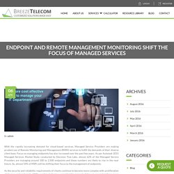 Managed Service Provider for Remote Management Monitoring