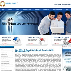 Bulk Email Service For Business Opportunity